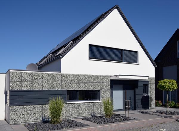 neue wandgestaltung mit gabionen. Black Bedroom Furniture Sets. Home Design Ideas