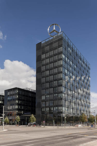 mercedes benz vertriebszentrale in berlin