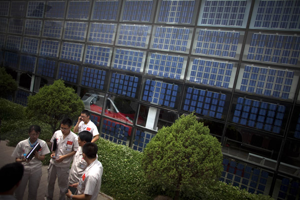 eu leitet ermittlungen gegen chinas solarindustrie ein. Black Bedroom Furniture Sets. Home Design Ideas