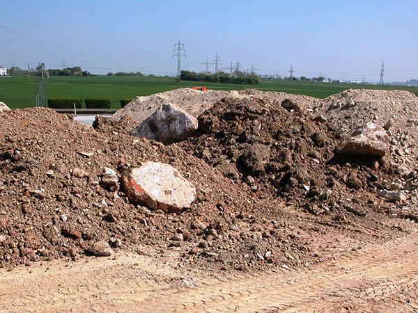 Verwertung von erdaushub und boden schwieriger geworden for Boden 20 prozent